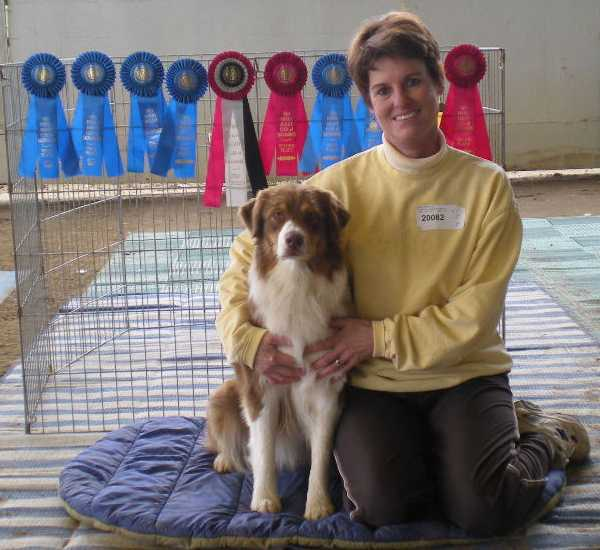 Carly & me with rosettes web.jpg (40074 bytes)